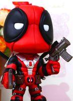 Цифры Superhero Deadpool X-Men Superhero Уэйд Уилсон Оружие Marvel фигурку Терминатор аниме Hot Toys Наруто Экшн