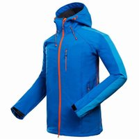 Wholesale New mammoth Brand Softshell Jacket Men Hiking Jacket Waterproof Windproof Thermal For Hiking Camping Ski Super