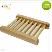 soap holder - 100pcs Fashional Bathroom Soap Tray Handmade Soap Dish Wooden Dish Wooden Soap Dish As Holder