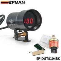 Precio de Pressure sensor-EPMAN 37mm - Aceite de lentes ahumadas compacto Micro Manómetro digital medidor automático del sensor Negro NTP rosca 1/8 EP-DGT8104BK