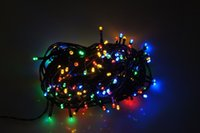 Wholesale Solar Power String Christmas Fairy Lights Lighting m LEDS for Xmas Party Garden Lawn Decoration DHL