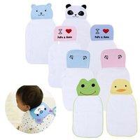 Wholesale 2pcs cartoon baby sling cotton gauze sweat absorbing towel pad sling child every baby hanjin oversizedf