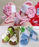 Cheap Hand-woven wool baby casual gladiator sandals. 100% veil. Soft bottom newborn toddler sandals. baby wear 12pair 24pcs