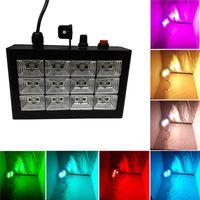 audio strobe light - New Hot RGB Strobe Light Sound Active Audio LEDs for DJ Show KTV Xmas Party Wedding Club Pub Disco