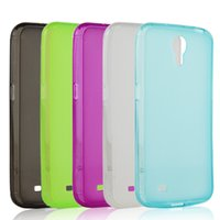 Cheap Case For SAMSUNG Galaxy Mega 6.3 I9200 i9208 Transparent Case Crystal Clear Scrub Protective Cover Phone Cases