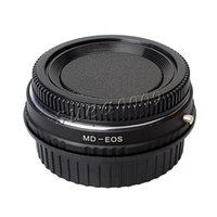 camera lens minolta - Len Adapter Ring for All Minolta MD MC Mount Lenses for All Canon EOS DSLR or Film SLR Camera With Optical Glass