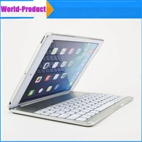 aluminum bluetooth wireless keyboard - Apple iPad Air keyboard Ultra Thin Aluminum Case Cover with Bluetooth Wireless Keyboard Stand Protective Case Cover