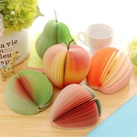 Wholesale Novelty Various Fruit and Vegetable Design Memo Pad Sticky Notes Memo Notebook Pad Promotional Gift Stationery