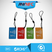 Wholesale 4pcs NFC Epoxy tag NTAG203 MHZ compatible for all cell phone device waterproof