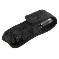 belt holster flashlight - Excellent quality cm Nylon Holster Holder Case Belt Pouch for LED Torch Flashlight for most flashlight Black