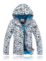 Cheap 2014 New gsou snow brand winter sports suit warm manteau ski suits femme for descente women snowboarding jacket mountain skiing