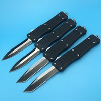 big hunting knife - 4Styles Microtech A161 troodon Tanto Blade Big Eddition pocket tool hunting knife survival outdoor knife knives with nylon bag