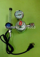 Wholesale AC V gas regulator CO2 heater flow meter for MIG welding machines Gas Pressure Regulators