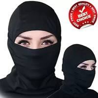 Wholesale Outdoor Sports Balaclava Mask Windproof Cotton Milk Silk Full Face Neck Ninja Headgear Hat Riding Hiking Cycling Masks