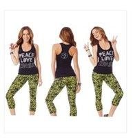 fitness tank tops - Hot Fitness Wear Brand New samfitness clothes Women Tank tops vest peace love