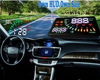 Wholesale 2015 Head up display for your car which match all OBD or EU OBD vehicle model ASH Q7 with mutil function for helping you drive easily