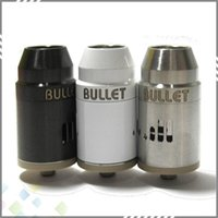 airs bullets - Bullet RDA Rebuildable Atomizers Dripping Vaporizer Clone PEEK Material Stainless Steel Adjustable Air Flow Fit Mechanical Mods DHL Free