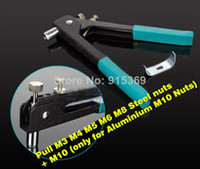 aluminium rivets - Rivet Nut tool M3 M10 Add nuts Rivet Nut gun Kits rvnut tool only for M10 Aluminium Nut