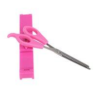 Wholesale Professional Bangs Scissors Set Hair Scissors Ruler Hairdressing Tools Bangs Trimming Set