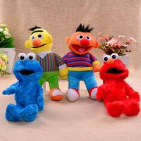 bert ernie - Sesame Street Large Stuffed Plush Toys Figure quot Elmo Cookie Monster Bert and Ernie Baby Sesame Plush Doll Party