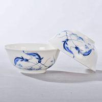 best porcelain dinnerware - inch Chinese bowls ceramics bone china rice bowl porcelain dinnerware in glaze decoration china Gift best wish