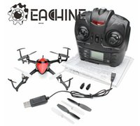 3d rc helicopter - Eachine D X4 G CH Gyro RC Quadcopter Helicopter Remote Control Toys With LED RTF order lt no track
