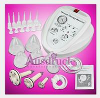 white breast enlargement pump - EU TAX FREE Breast Enlargement Pump Vacuum Massage Therapy Bust Shaper Enhancer Breast Beauty Care Machine