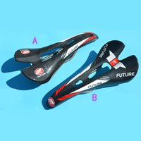 Wholesale FUTURE Carbon Road Bicycle Saddle Comfortable Bicycle Seat Lightweight MTB Saddle Seat Made in Taiwan E2