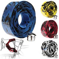 Wholesale Hot New x Soft Road Bike Handle Bar Tape Wrap Bicycle Cycling Tape Bar Plugs