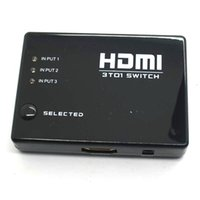 hdmi selector - 10pcs PORT HDMI Switch Switcher Selector Splitter Hub Remote p FOR HDTV PS3