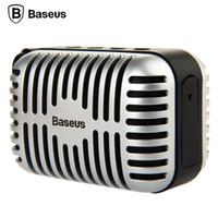 Wholesale car Original Brand BASEUS universal Portable Smart Wireless Retro Ye Shanghai Series Stereo Surround Bluetooth Speaker Music Player