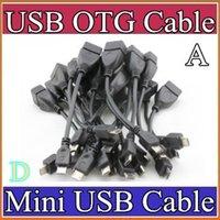 Wholesale A40 X Black Micro USB Cable OTG cable cm mini usb cable for samsung galaxy S2 S3 S4 i9100 i9300 i9500 HTC SJ
