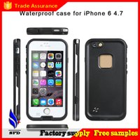 Wholesale Redpepper shockproof Dustproof Waterproof case swimming surfing case cover for iphone plus s s with retail box