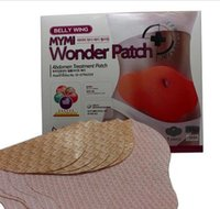 Wholesale Wonder patch pack MYMI Wonder Slim patch slimming belly Patches Gel Abdomen patch Loss Weight Products Waist Slim Patches DDA2910