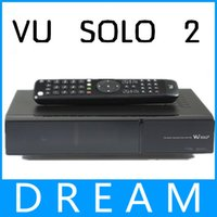 Cheap (1pcs lot)solo2 simV2 the one com es with usb2 service port ,original image, satellite receiver sunray vu solo 2 free shipping