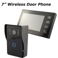 Wholesale Home Security G Wireless Video Door Phone Intercom Doorbell Camera with quot LCD Monitor Access Control