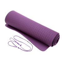yoga mat - Hot Sale Thick Exercise Yoga Mat Pad Non Slip Lose Weight Exercise Fitness Folding Gymnastics Mat for Fitness x24x0 inch Y1619