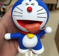 Wholesale Famous Japan Doraemon DD cat styles in one set Famous cartoon movie dolls for your kids Childhood