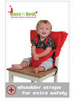 Wholesale Baby Dining Chair seat Safety Belt Baby Chair Portable Infant Seat Product High Chair Harness Baby Carrier