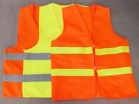 Wholesale hot overalls High Visibility Sanitation vest Reflective Vest Safety Vest