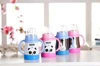 arc holds - Hong Kong ctapstar stainless steel bottle child holding baby bottle bottle Panda
