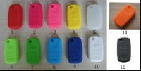 Wholesale 2014 Hot Sale VW Silicone Remote Key Fob Cover Holder Car Key Protective Case for VW Golf Bora Jetta POLO Passat