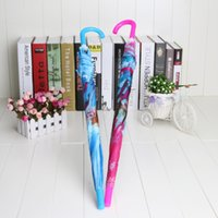 Wholesale 2 styles cm Frozen Umbrella cartoon elsa anna olaf Rain and Sun Proof Children Umbrella Frozen Series