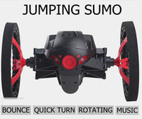 Wholesale New G CH Bounce Cool Car RC Remote Control Car Jumping Sumo Robot with LED light Eye