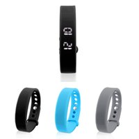 Wholesale W5 LED Smart Sport Band Wrist Watch Bracelet Pedometer Calorie Sleep Monitor Black Grey Blue