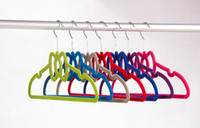 velvet hangers - ABS Velvet Hangers Colorful Velvet Hangers For Clothes