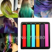 Wholesale Christmas Gifts Multi color Cool Disposable DIY Non toxic Temporary Hair Dye Chalk Color