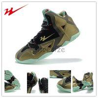 parachute fabric - Drop Shipping Top Brande Onemix James XI s Kings Pride Men s Basketball Sport Shoes Parachute Gold Arctic Green Dark Loden Black