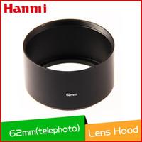 camera lens minolta - 62mm Standard metal Screw Mount Telephoto Lens Hood for Canon Casio Minolta Pentax Sigma Nikon camera Lenses