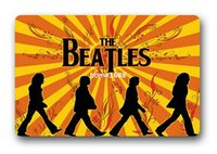 beatles carpet - The Beatles Welcome Christmas Home Decoration Stylish Nice Classic Modern Door Bedroom Bathroom Doormat Carpet Mats